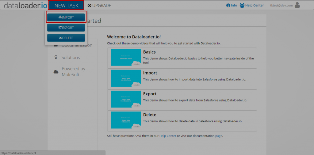 dataloader-import