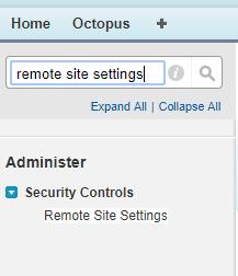 Octopus Appexchange App