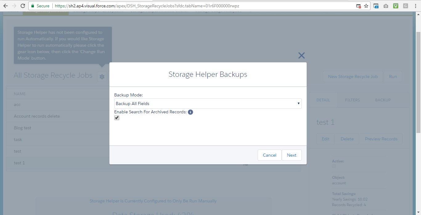 Storage Helper