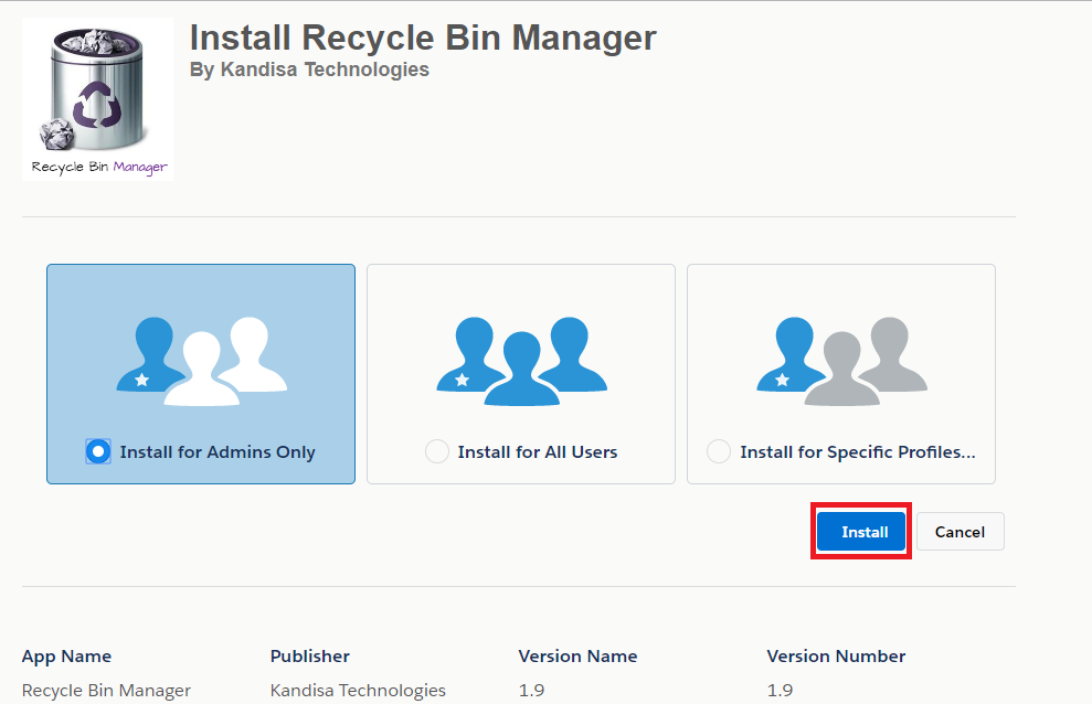 Recycle Bin Manager